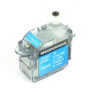 ETronix 7G Micro Servo - 1.6kg - 0.12sec