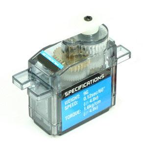 ETronix 9g Micro Servo - 1.6kg - 0.12s