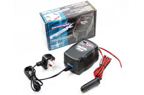eTronix Power Pal Peak Detect NiMh Fast Charger - Mains/12v Input