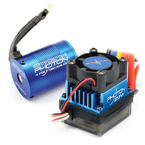 eTronix Photon 2.1 45A ESC Combo With 11.0R 3450Kv Motor