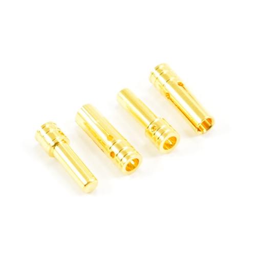 eTronix 3.5mm Gold Connectors (2Pr)