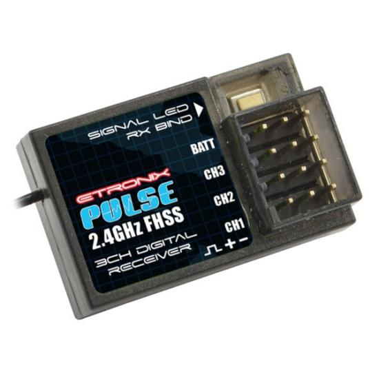 eTronix Pulse FHSS Receiver 2.4Ghz For ET1116