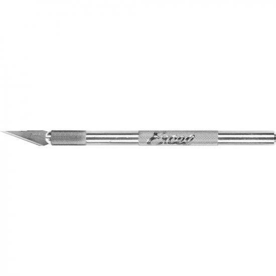 Excel K1 Knife, Light Duty Round Aluminium with Safety Cap