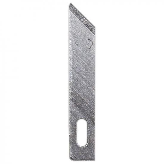 """Excel #5 Angled Chisel Blade, Shank 0.25"""" (0.58 cm) (5pcs) (Carded)"""