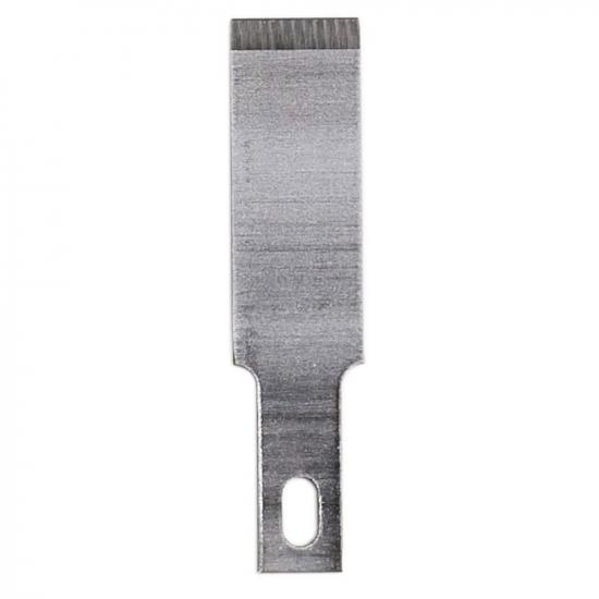 """Excel #17 3/8in Chisel Blade, Shank 0.25"""" (0.58 cm) (5pcs) (Carded)"""