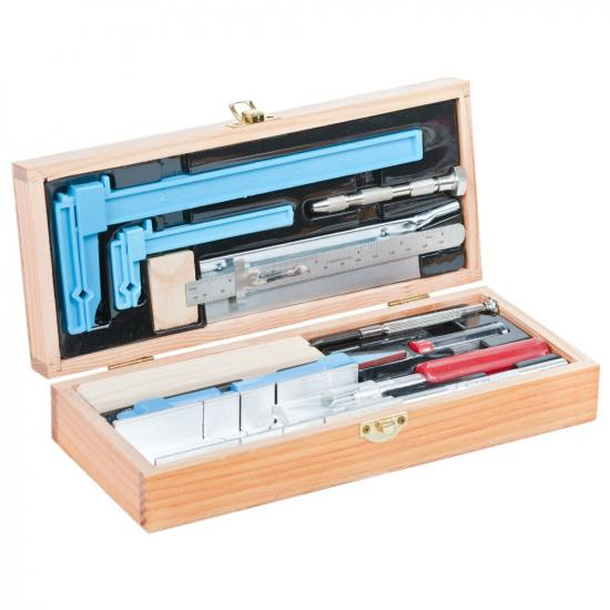 Excel Deluxe Wooden Builders Tool Set (Boxed)