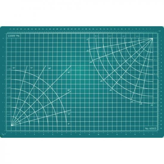 Excel 18x24in Self-Healing Cutting Mat, Green (Bulk)