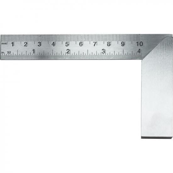 Excel 4in (10.16cm) Precision Carbon Steel Machine Square(Bulk)