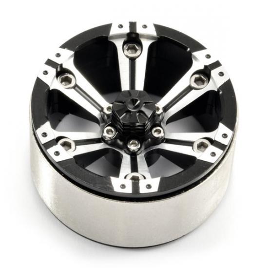 Fastrax 1.9 Heavy Duty 6 Spoke Alloy Beadlock Wheels (2)