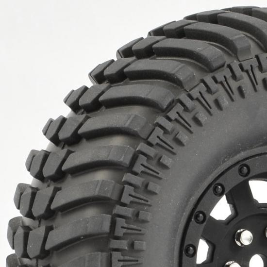 Fastrax Paso 1.9 Tyres Mounted on Black Wheels (2)