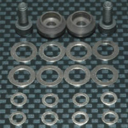 Fastrax Clutch Bell Shim Set - Includes Various Washers - Screws - Etc