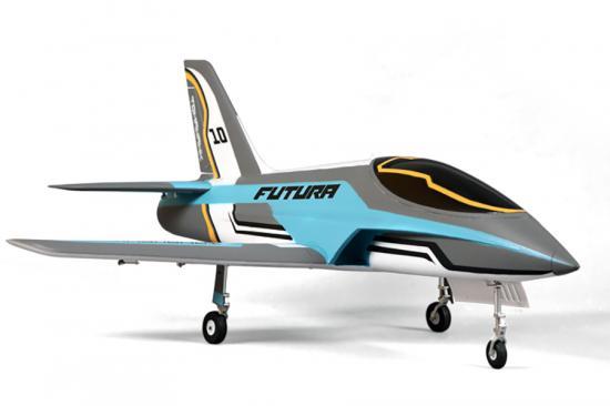 FMS Futura EDF Jet V2 ARTF - Blue