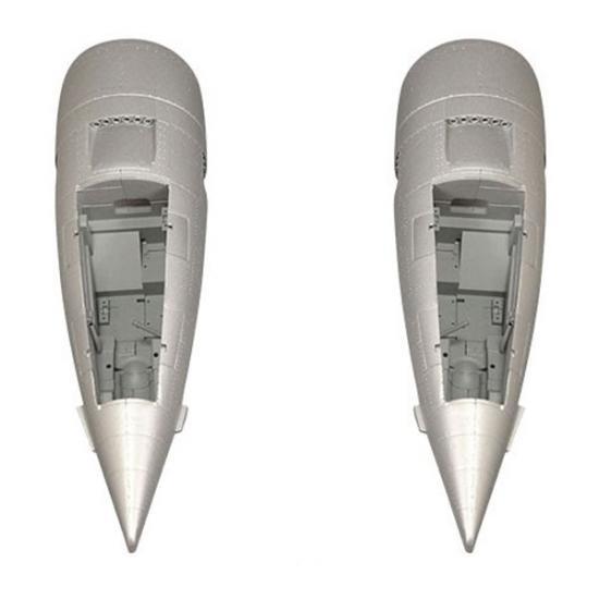 FMS 1700mm F7F Tigercat Silver Nacelles (2Pcs)