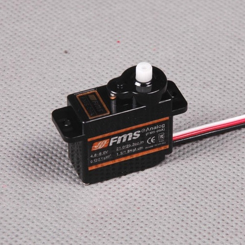 FMS 9G Slow Flap Servo Positive With 300mm Length Cable (FS0563)
