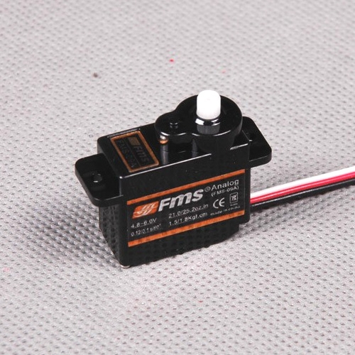 FMS 9G Slow Flap Servo Reverse With 300mm Length Cable