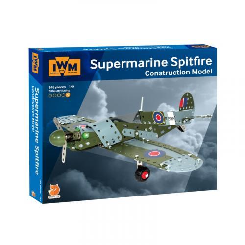 Imperial War Museum Metal Construction Model - Supermarine Spitfire