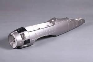 FMS T28 Trojan (1.4M) Fuselage - Silver
