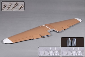 FMS Mess Bf109 (1.4M) Main Wing Set (New) Brown ** CLEARANCE **