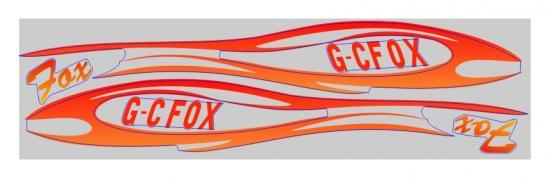 FMS Fox Glider (2.3M) Decal Sheet