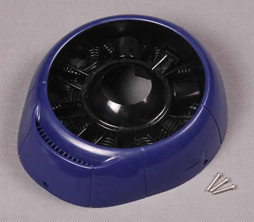 FMS 1700mm F4U Cowl (Blue)