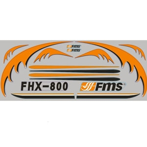 FMS Easy Trainer 800 Decal Sheet