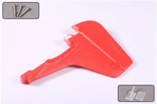 FMS P51 V7 Red Tail Vertical Stabilizer