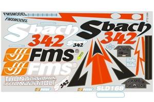 FMS 1.3M Sbach Decal Sheet