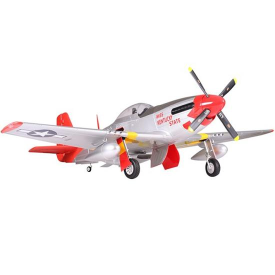 Fms 1700mm P 51 Mustang Red Tail Artf