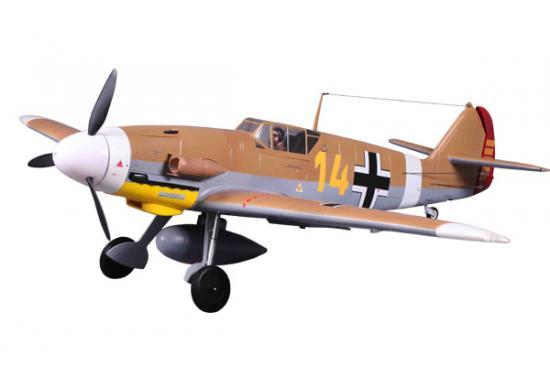 FMS BF109-F 1400mm Brown