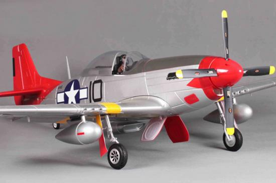 Fms P51 Mustang Red Tail V8
