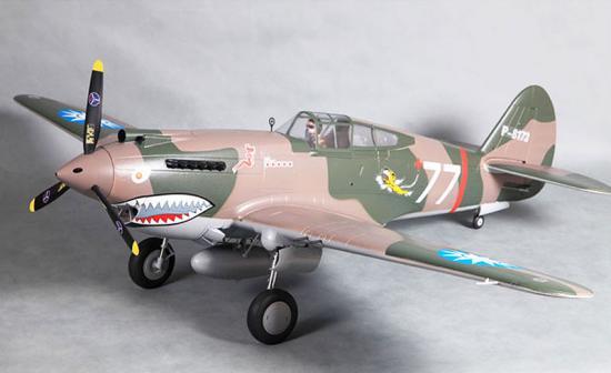 FMS P-40B 1400 Super Scale - ARTF