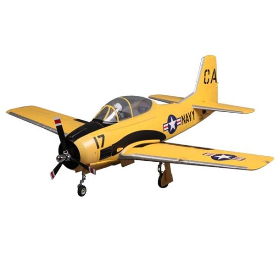 FMS 1400mm T-28D V4 Superscale ARTF - Yellow