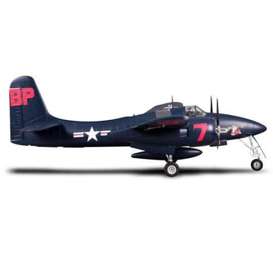 FMS F7F Tigercat 1700mm Blue - ARTF