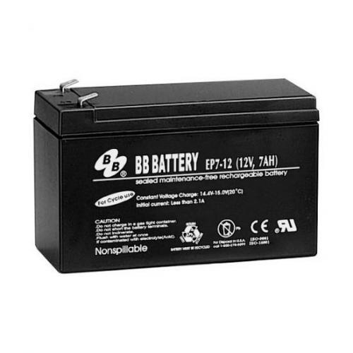 12 Volt 7Ah Sealed Lead Acid (SLA) Gel Battery