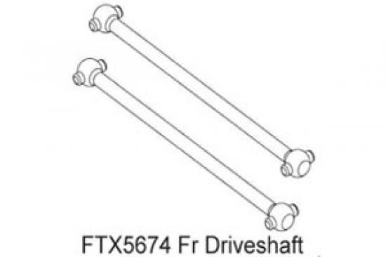 FTX Enrage Front Driveshaft