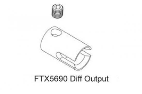 FTX Colossus Centre Diff Output Cup ** CLEARANCE **