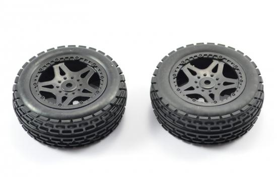FTX Surge Front Buggy Mounted Wheels/Tyres (Pr) ** CLEARANCE **