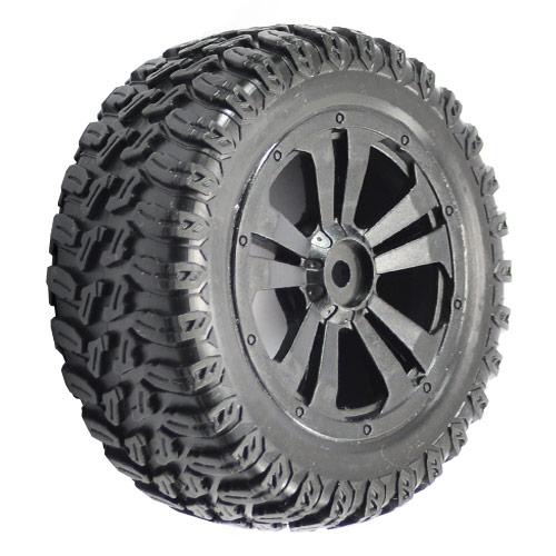 FTX Surge SHort Course Mounted Wheels/Tyres (Pr)