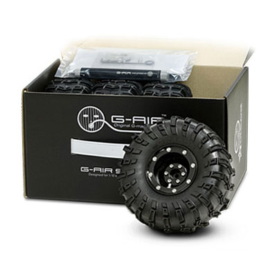 GMade 2.2 G-AIR System Wheels, Tyres and Pump (Set of 4)