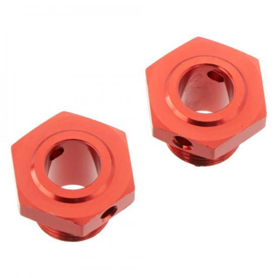 ARAC9413 Arrma Aluminum Wheel Hex 17mm (13.6mm Thick, Red) (2Pcs)