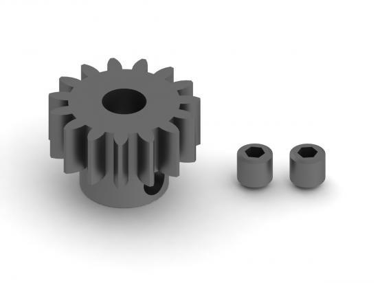 ARAC7776 Arrma 15T Mod1 Pinion Gear (1Pc)