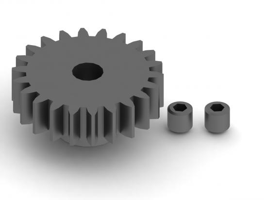 ARAC7783 Arrma 22T Mod1 Pinion Gear (1Pc)
