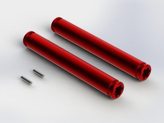 ARAC4044 Arrma Slider Driveshaft 80mm (2Pcs)