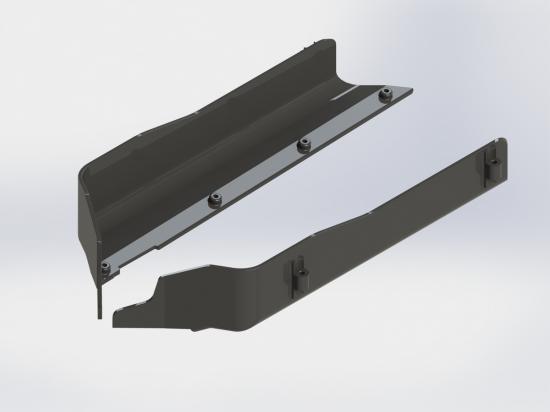 ARAC5019 Arrma Composite Sc Side Guards (2Pcs)