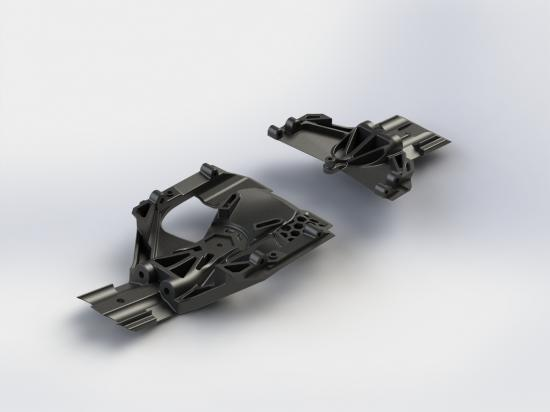 AR320283 Steering Skidplate Set