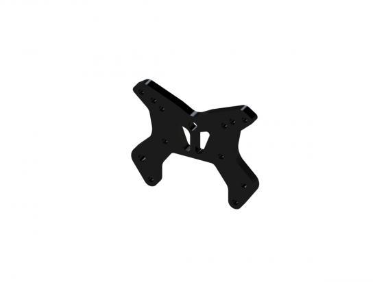 ARAC9034 Arrma Aluminium Front Shock Tower S (Black) (1Pc)