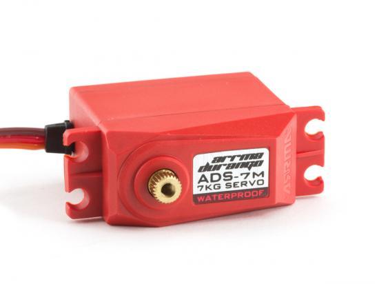 ARAM1019 ARRMA ADS-7M V2 6.5kg Waterproof Servo Red