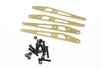 Axial Lower Link Plate Set (Aluminum) (4pcs)