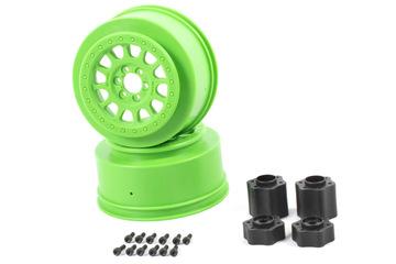 Axial 2.2 3.0 Method 105 Wheels 41mm (Green) (2pcs)
