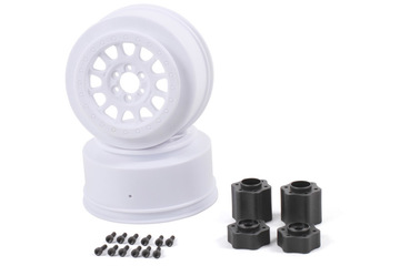 Axial 2.2 3.0 Method 105 Wheels 41mm (White) (2pcs)